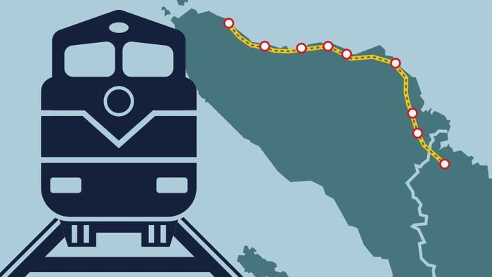 Rel Kereta Aceh-Sumatera Utara 417 Km Dibangun Tahun Ini