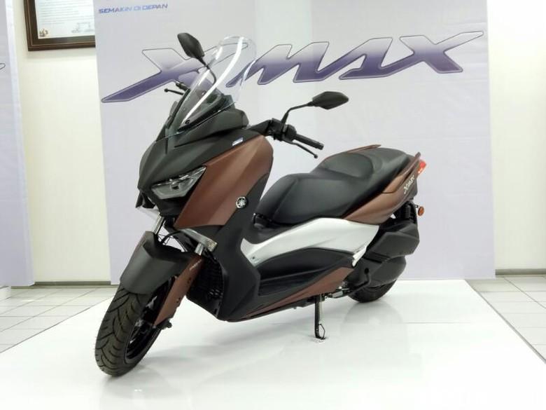 Motor XMAX Made in Pulogadung Mulai Dikirim ke Eropa