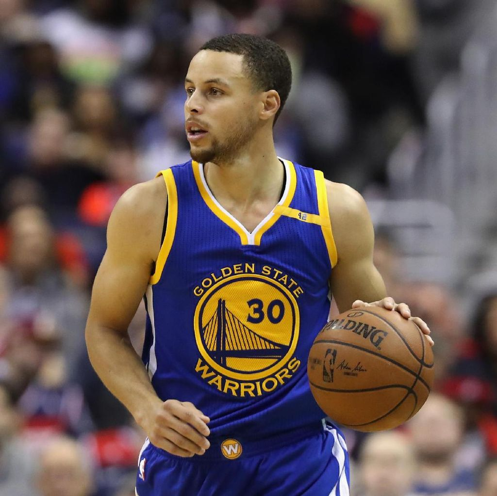 Jersey Stephen Curry Paling Laris di Indonesia
