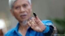 Antusiasme Warga Jakarta Mencoblos