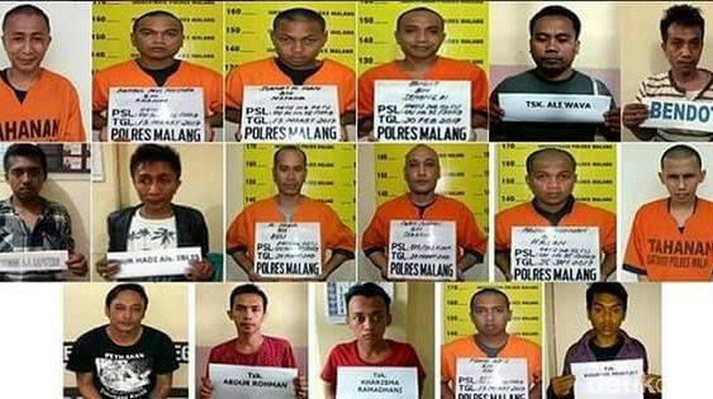 2 Lagi Tahanan Polres Malang yang Kabur Ditangkap, 9 Masih Diburu
