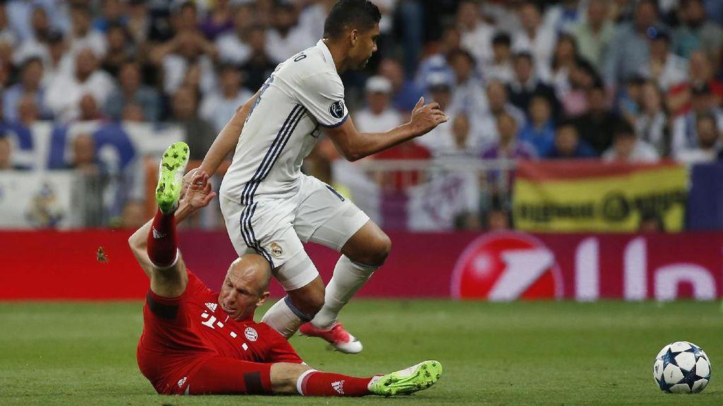 Robben Merasa Bayern Dirampok di Bernabeu