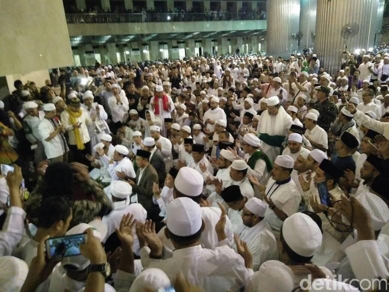 Tamasya Al-Maidah Sujud Syukur, Rizieq: Pulang Harus Tertib