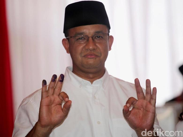 Anies Ajak Semua Pihak Jaga Kesejukan Usai Pilgub DKI Putaran 2