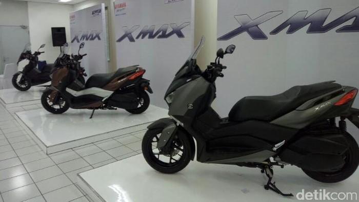40% Konsumen Inden Online Yamaha XMAX Datang dari Bandung