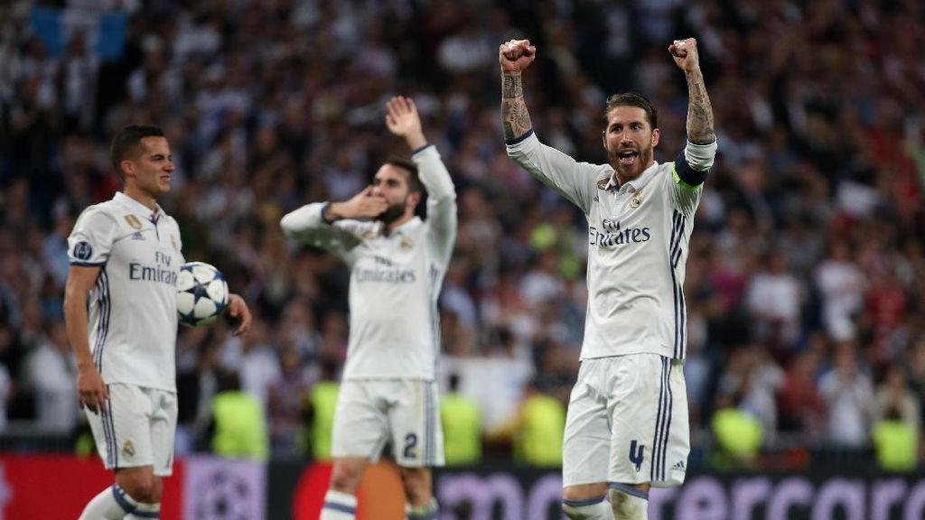 Pique Sindir Kemenangan Madrid, Ini Respons Ramos