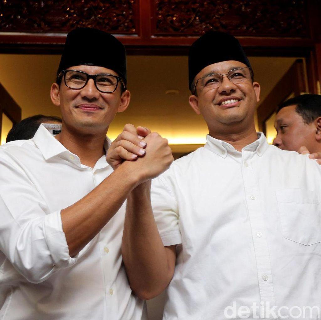 Minta Masukan untuk Jakarta, Sandiaga Akan Ajak Agus-Sylvi Diskusi