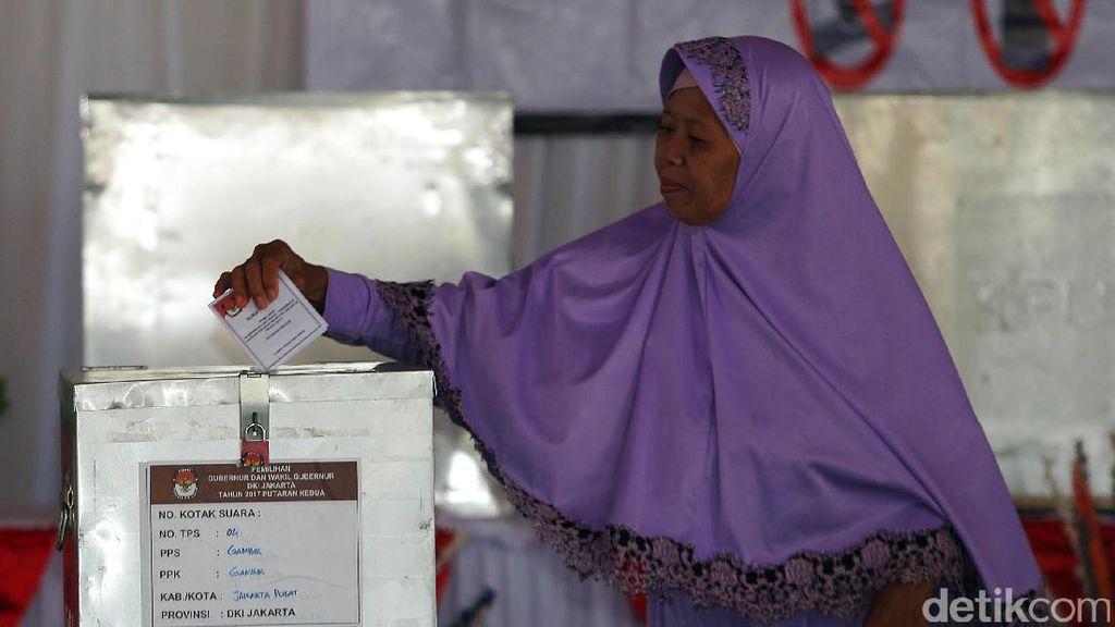 Hari ini KPU DKI Gelar Pemungutan Suara Ulang di 2 TPS