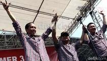 Untuk Kedua Kalinya Prabowo Menangkan Pasangan Cagub-Cawagub DKI