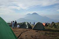 Panorama lima gunung