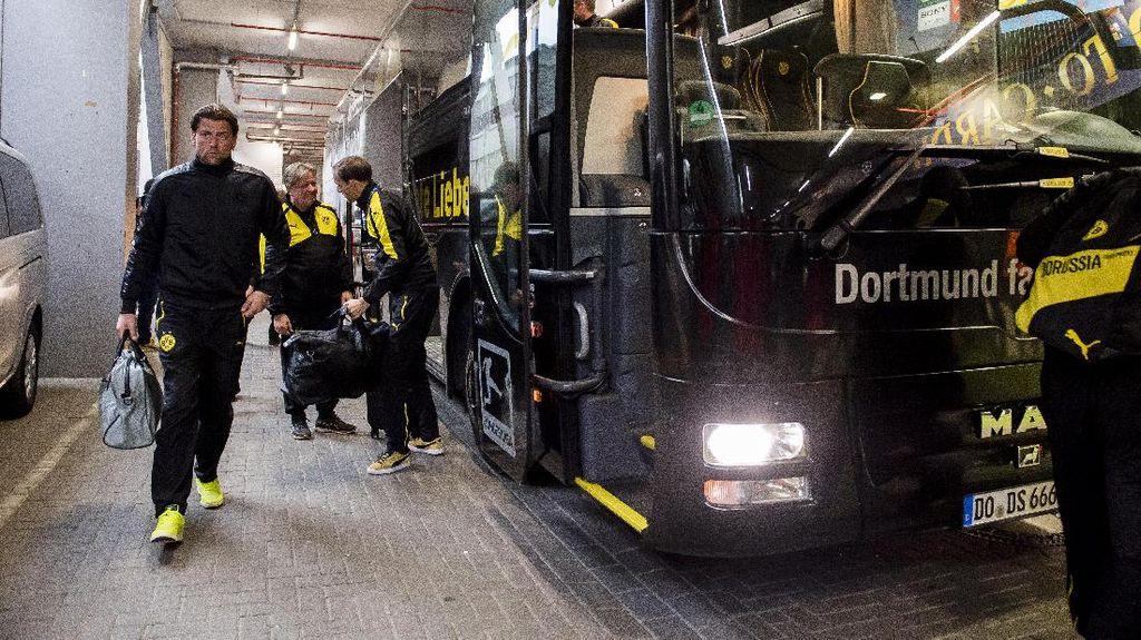 Insiden Penundaan Keberangkatan ke Stadion Ganggu Fokus Dortmund