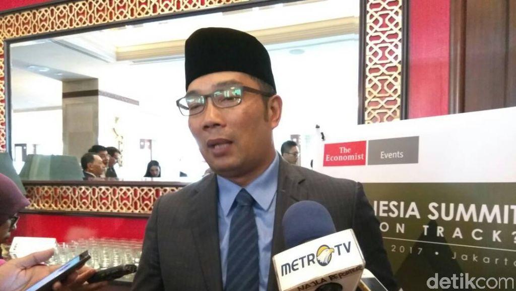Ini Jurus Ridwan Kamil Jaring Investor ke Bandung