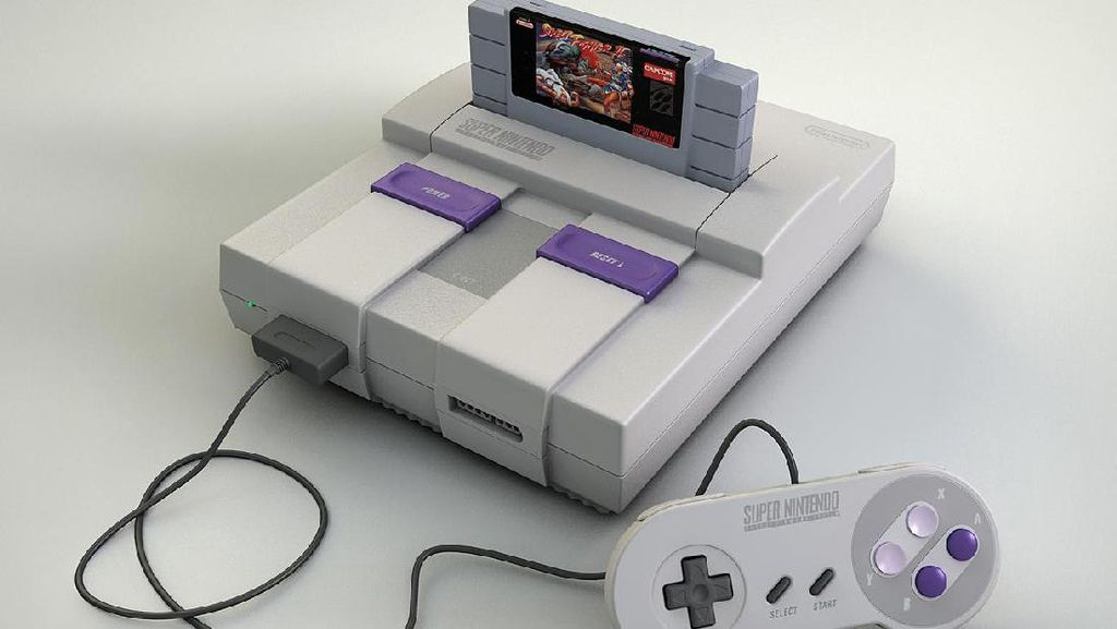 Super Nintendo Classic Edition Siap Manjakan Gamer Lawas