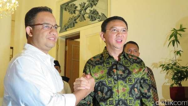 Pesan Sejuk Ahok-Anies: Hentikan Percekcokan, Kita Bangun Jakarta