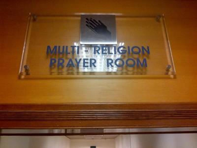 Tempat Ibadah Semua Umat di Bandara Changi, Singapura