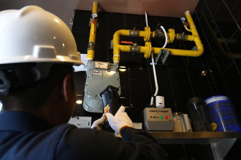PGN Pasok Gas ke Gedung Perkantoran di Jakarta