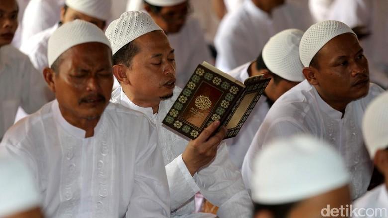 Ribuan Warga Binaan Khataman Alquran