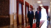 Wapres AS Mike Pence Pukul Beduk di Istiqlal