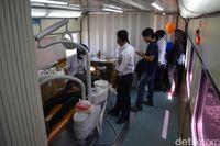 2 Gerbong <i>Rail Clinic</i> Layani Warga Cianjur