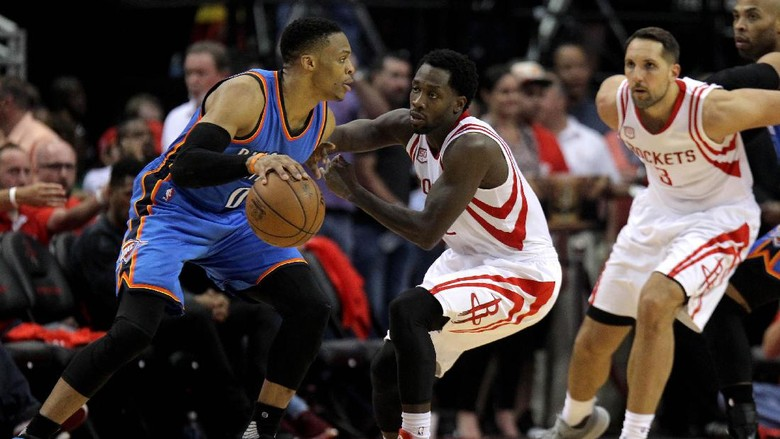 Westbrook Bikin 51 Poin, tapi Thunder Kalah Lagi dari Rockets