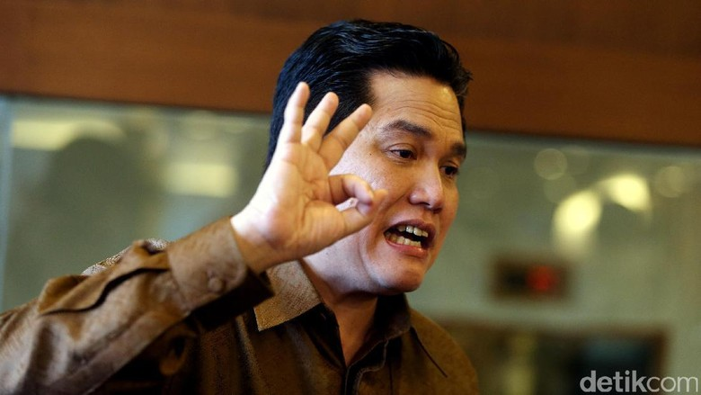 Persiapan Asian Games 2018 Lambat, Erick Thohir Santai