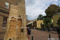 Monumen The Settlers (Fitraya/detikTravel)