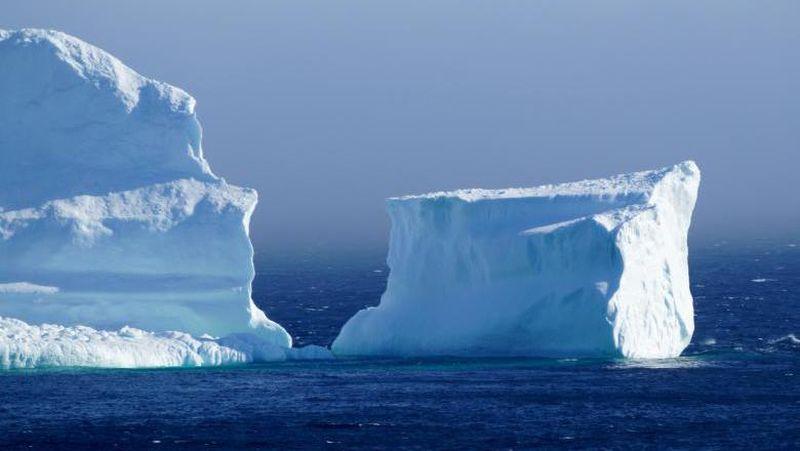 Gunung es ini biasanya memang muncul di lautan sekitar Ferryland pada musim semi hingga akhir musim panas. Asalnya dari kawasan Arktik (Jody Martin/Reuters)
