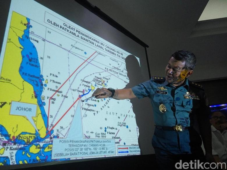 Kapal Diduga Bawa Kerangka Seven Skies Kabur Usai Disergap TNI