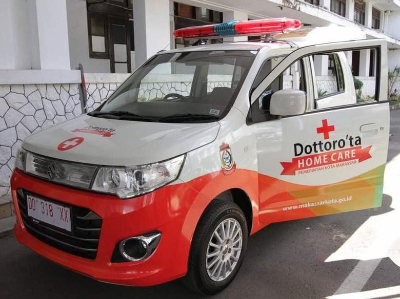 Ambulans Mini untuk Warga Makassar