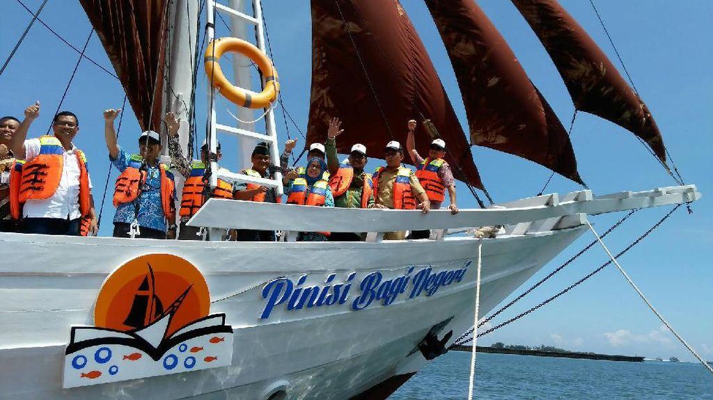 Peduli Lingkungan, Toyota Luncurkan Perahu Pinisi