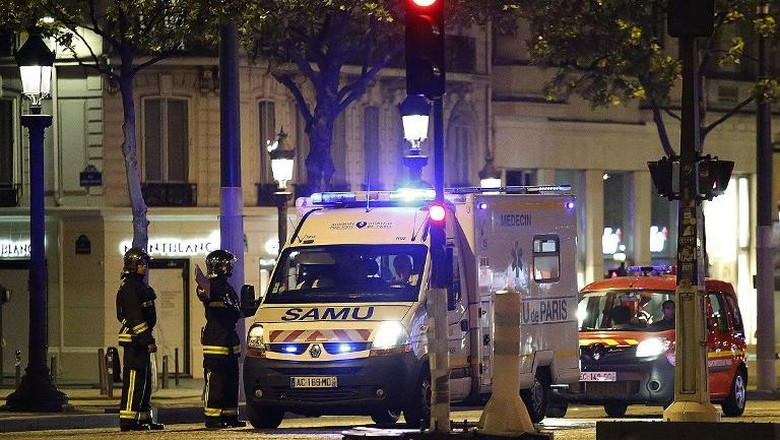 Capres Prancis Batalkan Kampanye Usai Penembakan Champs Elysees