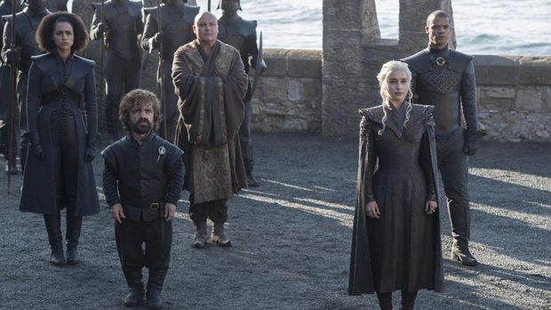 HBO Rilis Foto-foto Terbaru 'Game of Thrones' Musim Ketujuh