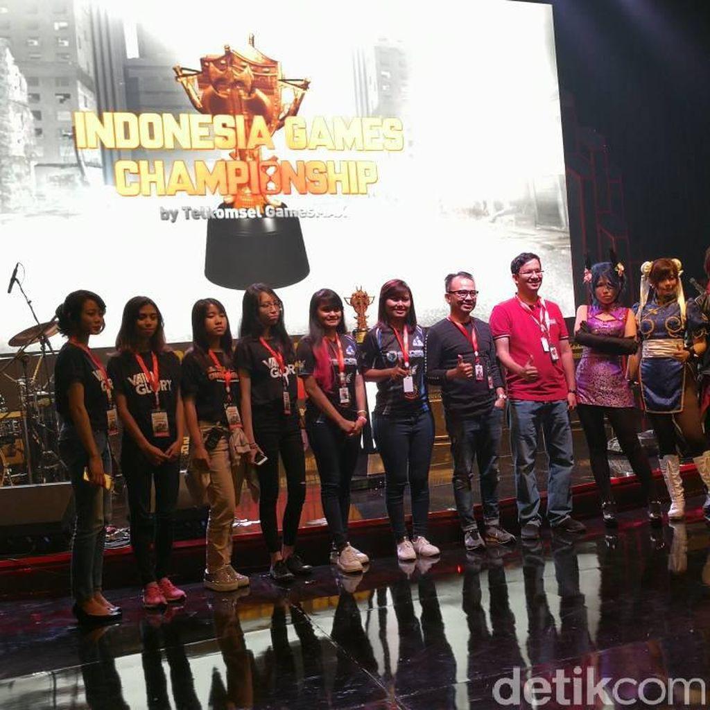 Grand Final Indonesia Game Championship Resmi Dibuka