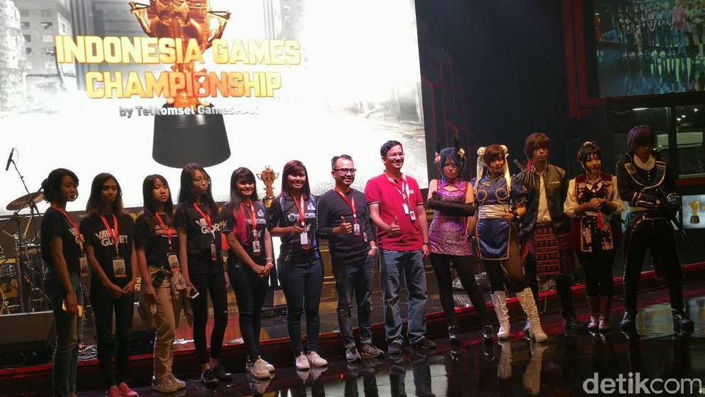 Grand Final Indonesia Game Championship Resmi Dibuka