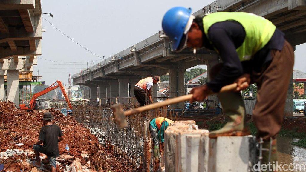 Marak Proyek Infrastruktur, Ketimpangan Ekonomi RI Turun