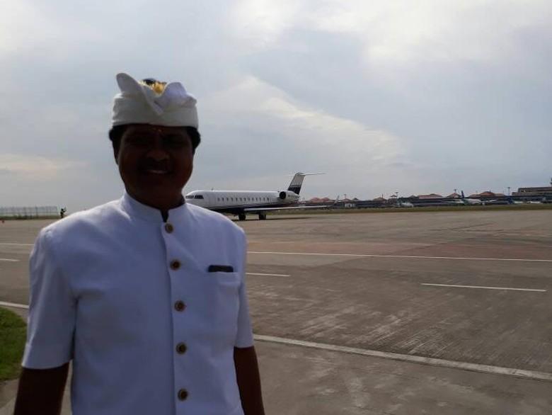 Sudikerta Meralat, Pesawat Jet yang Diupacarakan Bukan Milik Novanto