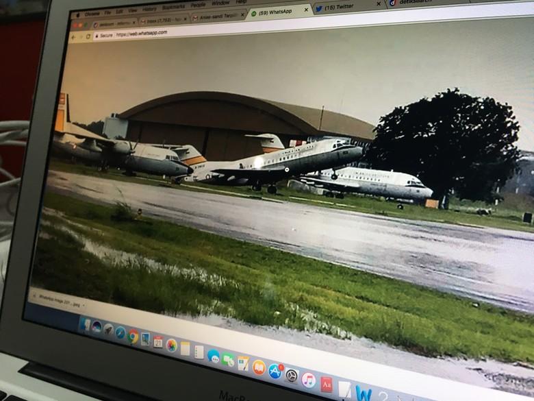 Pesawat di Halim yang Ngetril Kondisinya Memang Sudah Rusak