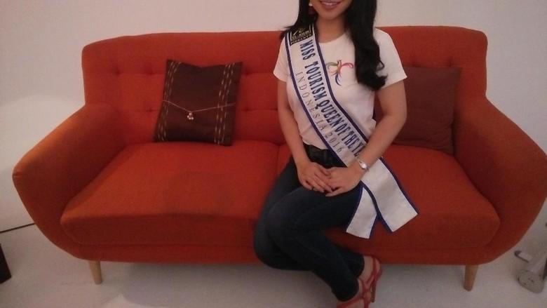 Miss Pariwisata 2016, Putri Amelia (Bona/detikTravel)