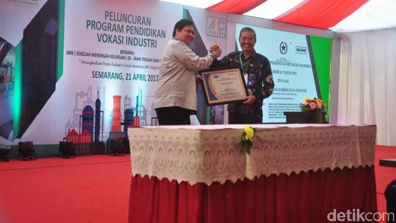 Menperin Gandeng 117 Perusahaan Kembangkan SMK di Jateng dan DIY