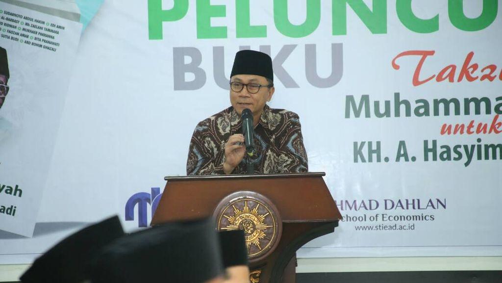 Utang Ketua MPR pada Hasyim Muzadi dan Janji Menunaikannya