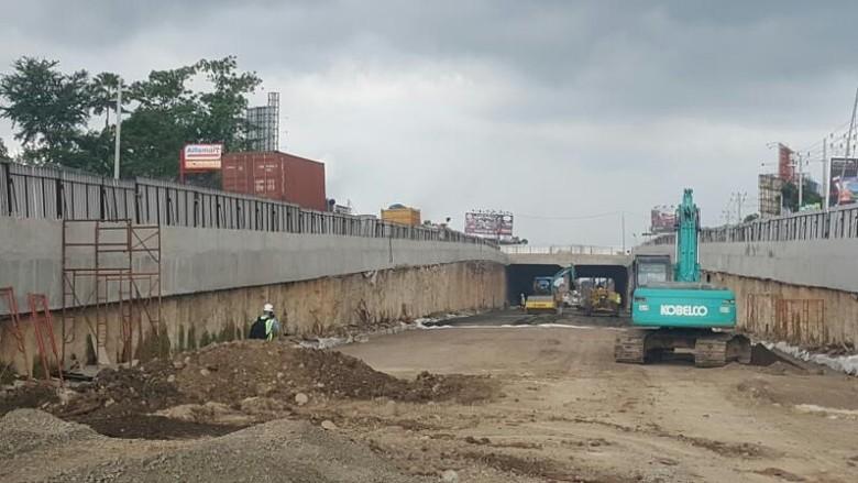 Underpass Simpang Lima Mandai Makassar Bisa Dilalui H-7 Lebaran