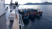 Polisi Kembali Tangkap 4 Kapal Vietnam Terkait Illegal Fishing