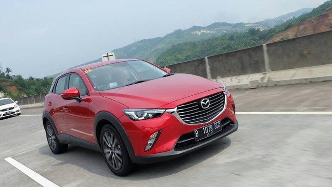 Pembuktian Crossover Mazda CX-3