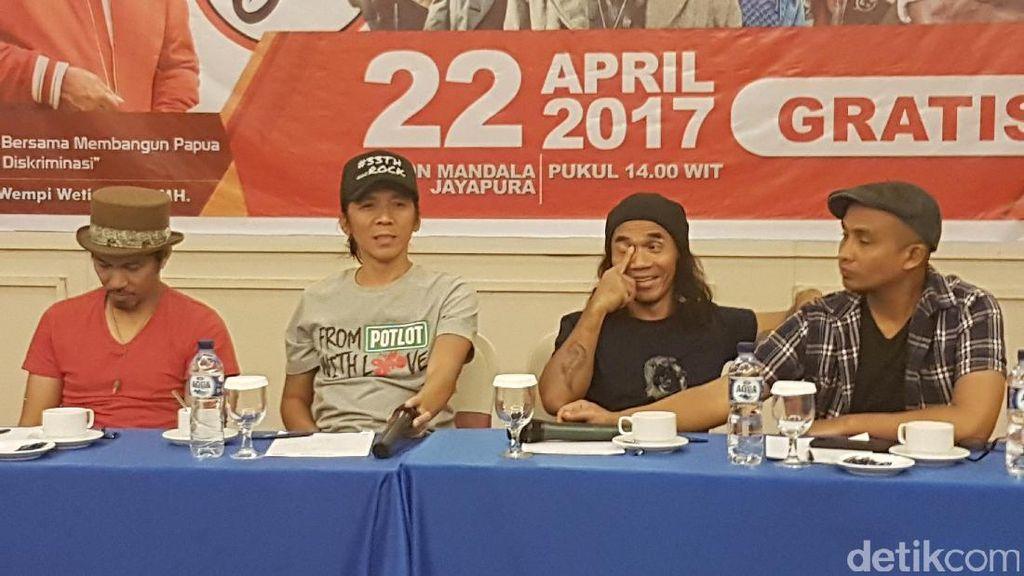 Slank Ajak Warga Papua Memilih Pemimpin Sederhana