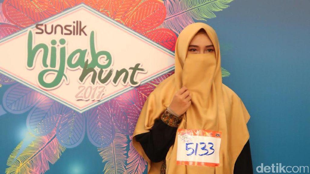 Kisah Wanita Bercadar Ikut Audisi Sunsilk Hijab Hunt 2017 di Bandung