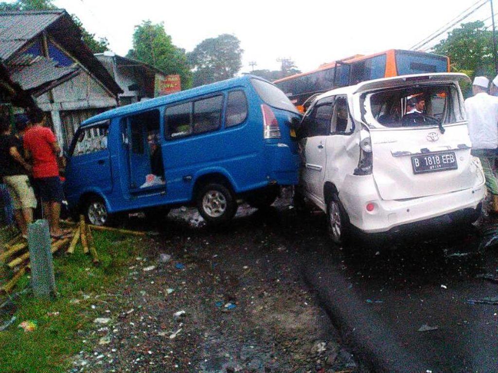Bus Maut Puncak Tak Laik Jalan: Tanpa Rem Tangan dan Tipis Kampas