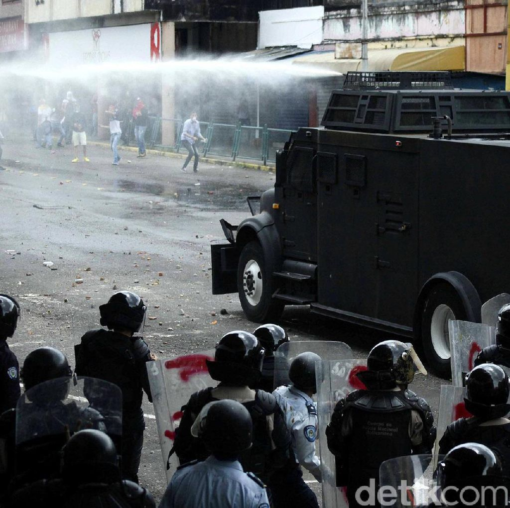 3 Orang Tewas dalam Aksi Demo di Venezuela, Total Korban 24 Orang