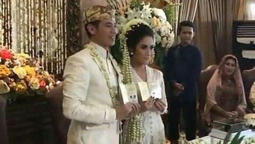 Tarra Budiman dan Gya P Sadiqah Resmi Jadi Suami-Istri