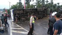 Polisi: Bus Rusak Sebelum ke Puncak tapi Diperintah PO Berangkat