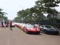 Ratusan Mobil Ferrari Bikin Heboh Kawasan BSD